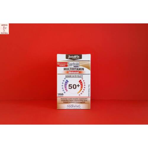 Jutavit Multivitamin Senior 50+ tabletta 100db