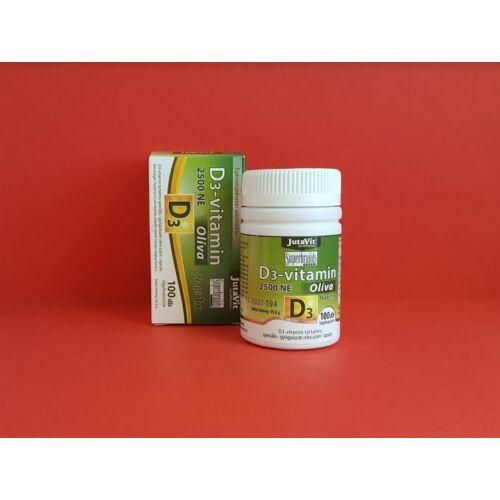 Jutavit D3-vitamin 2500NE Oliva kapszula 100db