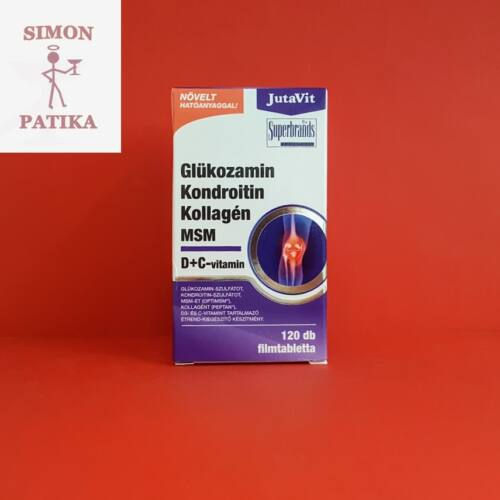JutaVit Glükozamin Kondroitin MSM filmtabletta 120db
