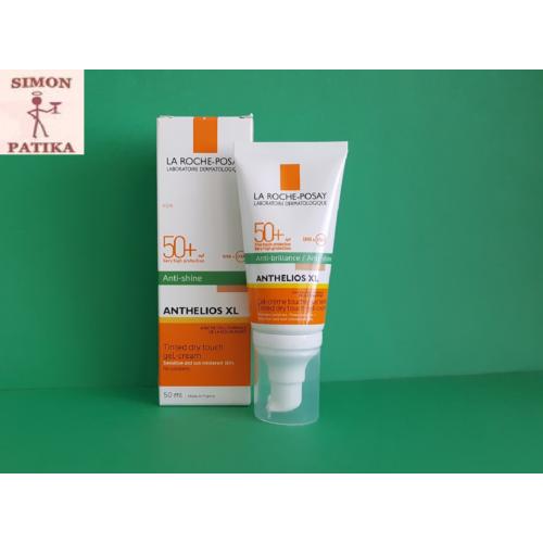 ANTHELIOS XL napvédő gél-krém arcra színezett SPF50+  50ml