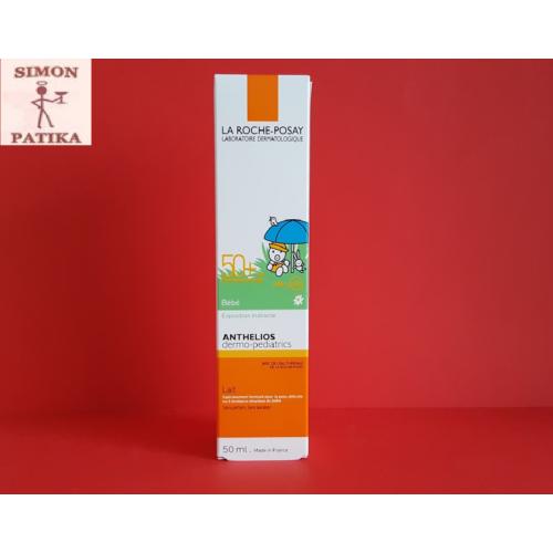 ANTHELIOS napvédő tej babáknak SPF50+  50ml