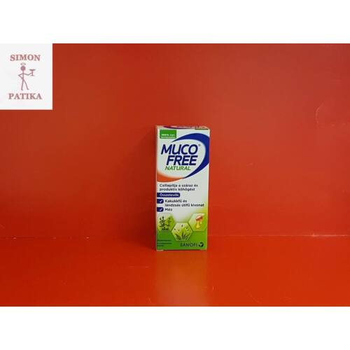 Mucofree Natural szirup 94 ml