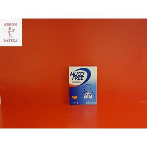 Mucofree 15 mg pasztilla 20db