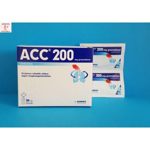ACC 200 granulátum 30db