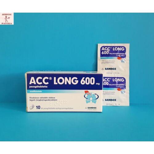 ACC long 600 mg pezsgőtabletta 10db