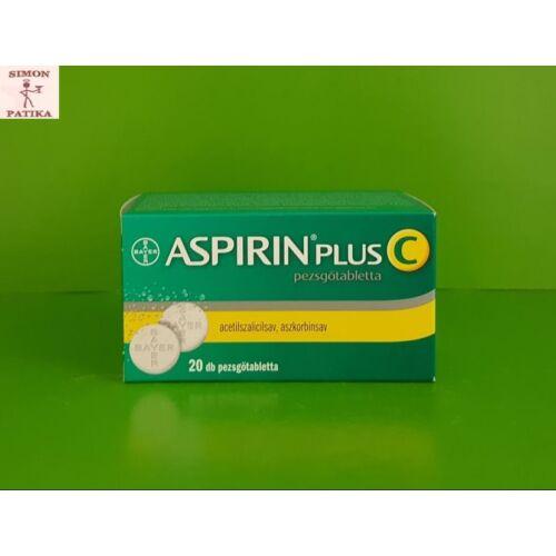 Aspirin Plus C pezsgőtabletta 20db