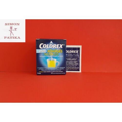 Coldrex Plus köhögés elleni por 10db