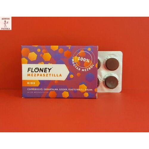 Floney mézpasztilla Kids gyümölcskivonat