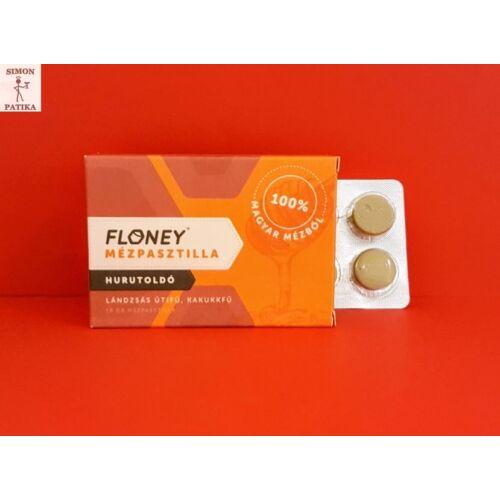 Floney mézpasztilla Lándzsás Útifű, kakukkfű