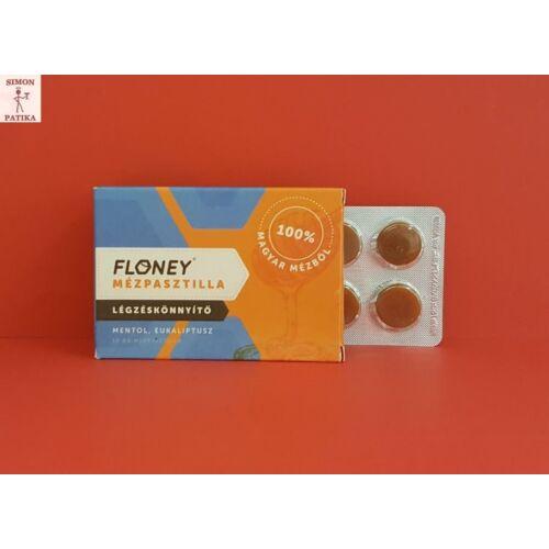 Floney mézpasztilla Menthol Eucalyptus