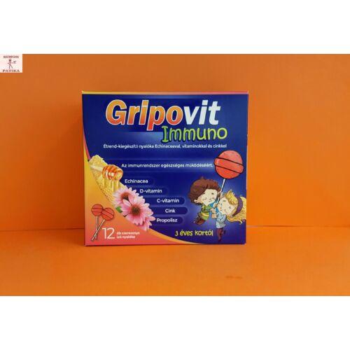 Gripovit Immuno nyalóka 12db