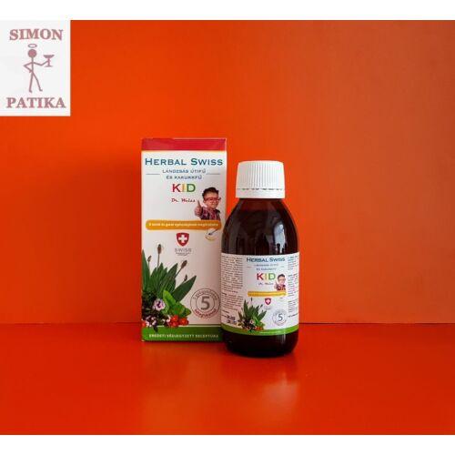 Herbal Swiss Kid Lándzsás útifű-Kakukkfű 150ml