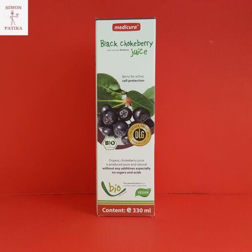 Medicura Fekete berkenye gyümölcslé Bio 100% 330ml
