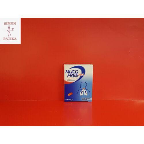 Mucofree MAX 75 mg retard kemény kapszula