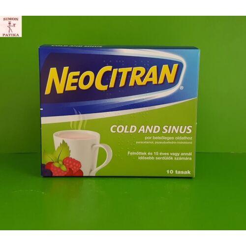 Neo Citran Cold and Sinus por 10db