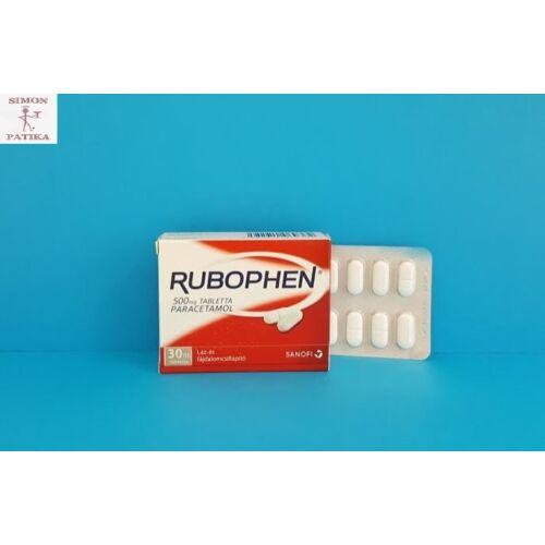 Rubophen 500 mg tabletta 30db