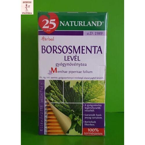 Naturland Borsosmenta filteres tea 25db
