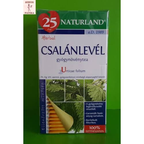 Naturland Csalán filteres tea  25db