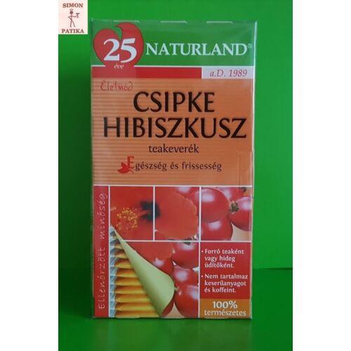 Naturland Csipke-hibiszkusz tea filteres