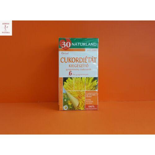 Naturland Cukordiétát kiegészítő filteres tea