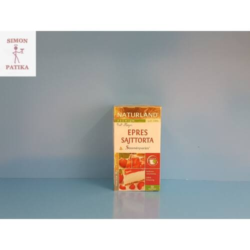 Naturland Prémium Epres sajttorta ízű tea