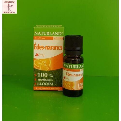 Naturland Édes-narancs illóolaj 10 ml