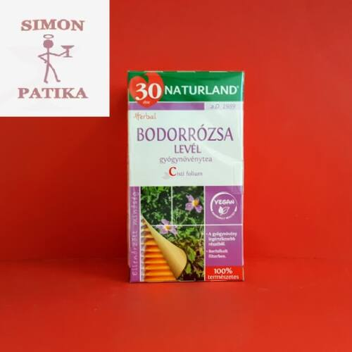 Bodorrózsa  filteres Naturland  25db