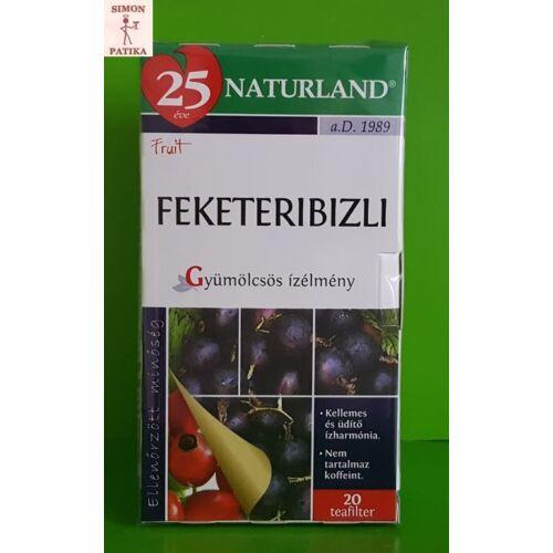 Naturland gyümölcstea Feketeribizli