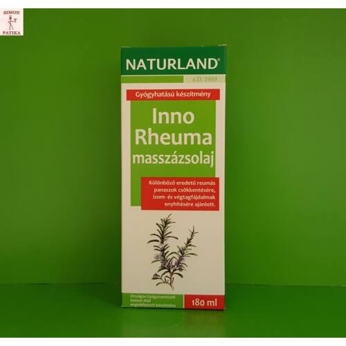 Naturland Inno Reuma masszázsolaj 180ml