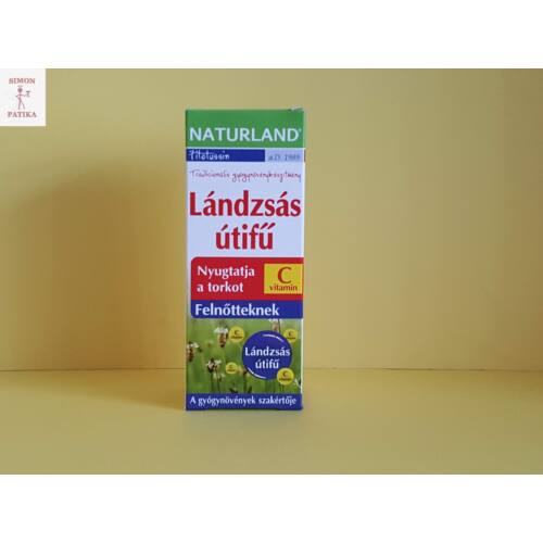 Naturland Lándzsás útifű +C felnőtteknek