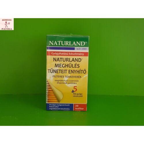 Naturland Meghűlés tüneteit enyhítő tea filteres 20x