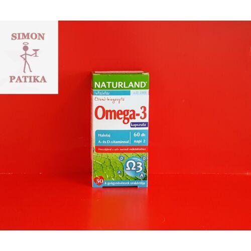 Naturland Omega-3 kapszula 60db