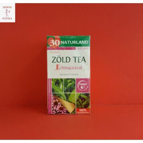 Naturland Zöld tea filteres echinaceával