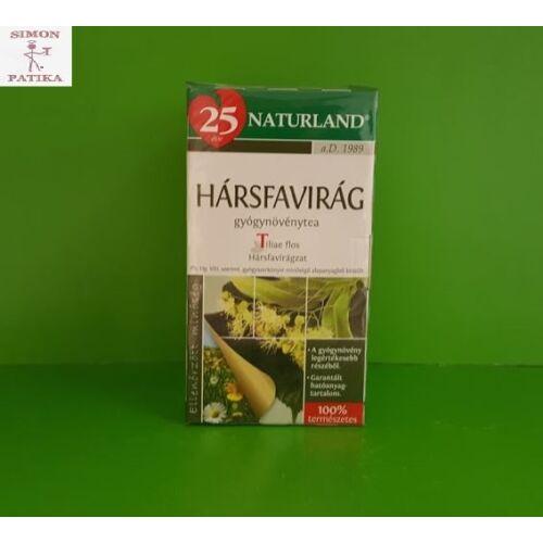 Naturland Hársfavirág tea filteres 25db