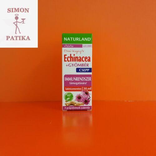 Naturland Echinacea + Gyömbér csepp 30ml
