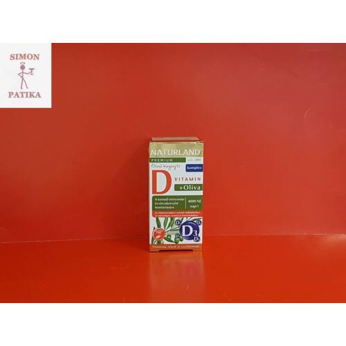 Naturland D vitamin 4000 Ne +Oliva tabletta