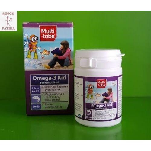 Multi-Tabs Kid Omega-3 halolaj kapszula  30db