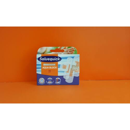 Salvequick Aqua Block sebtapasz 16db