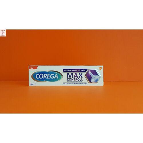 Corega műfogsorrögzítő krém Max Seal Kontroll