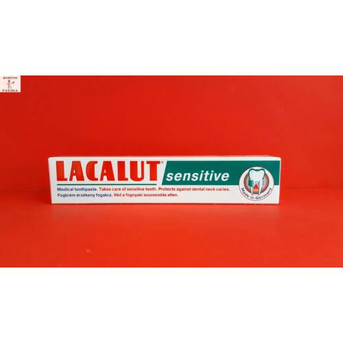 Lacalut fogkrém sensitive 75 ml