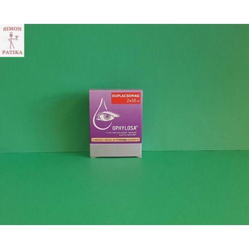 Ophylosa 0,15% oldatos szemcsepp Duopack