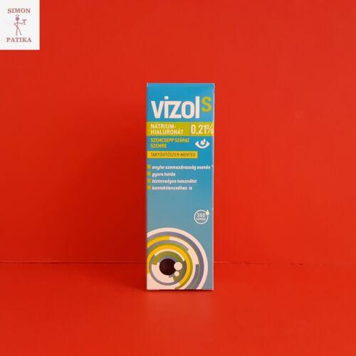Vizol S 0,21 % szemcsepp száraz szemre