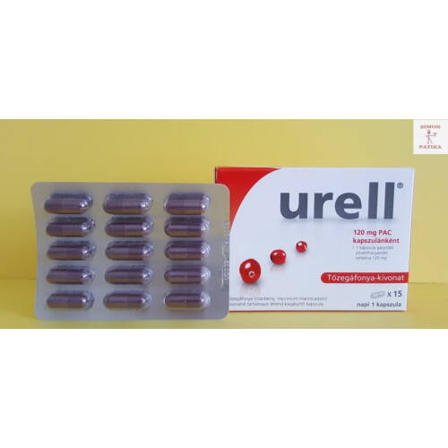 Urell Express tőzegáfonya kapszula 15x