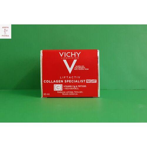 Vichy Liftactiv Collagen Specialist éjszakai arckrém