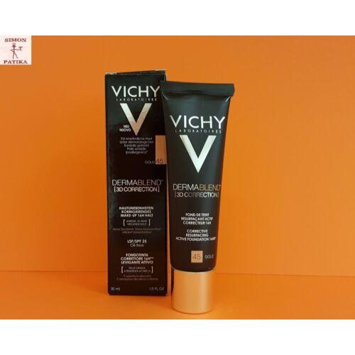 Vichy Dermablend 3D korrekciós alapozó  45 30ml