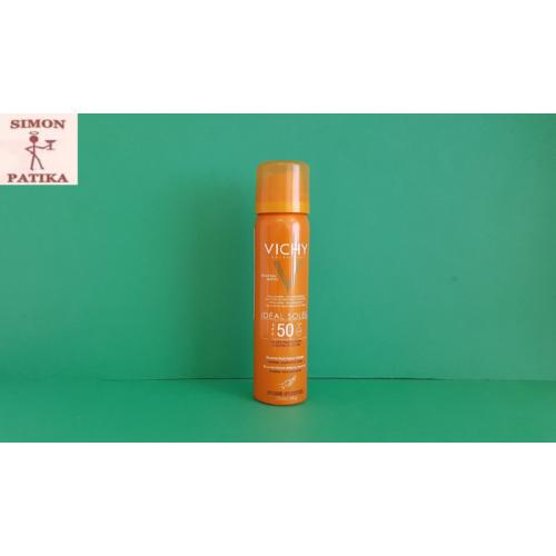 Vichy Ideal Soleil napvédő permet arcra 75ml
