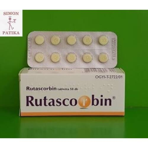 Rutascorbin tabletta 50x