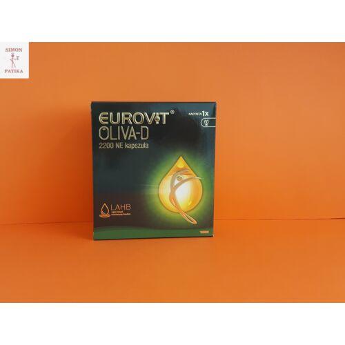 Eurovit Oliva D3 vitamin 2200 NE kapszula 60x