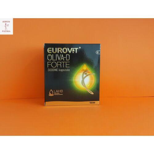 Eurovit Oliva D 3000NE Forte kapszula 60db
