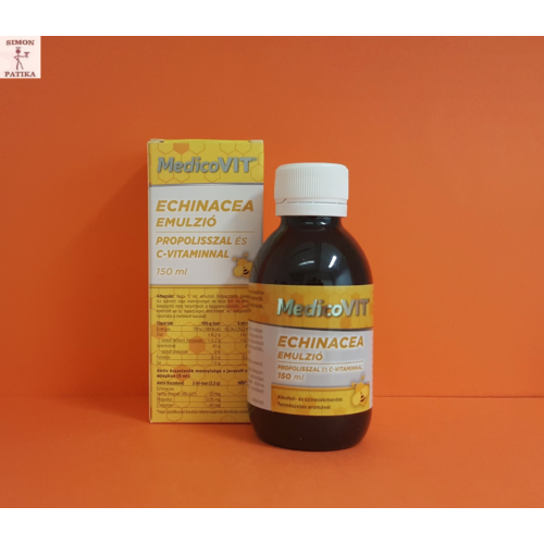 MedicoVit Echinacea Propolisz C vitamin emulzió